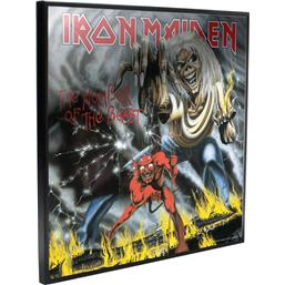 Iron Maiden: Number of the Beast Crystal Clear Picture 32 x 32 cm