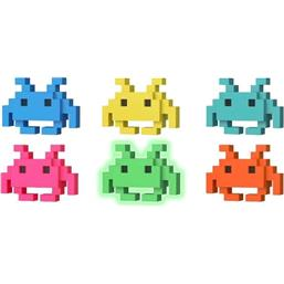 Space Invaders POP! 8-Bit Vinyl Figur 6-pak