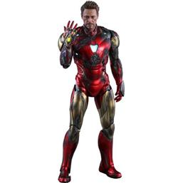 Iron Man Mark LXXXV Battle Damaged MMS Diecast Action Figure 1/6 32 cm