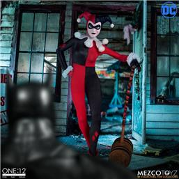 Harley Quinn Deluxe Edition One:12 Action Figure 1/12 16 cm