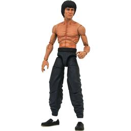 Bruce Lee Shirtless Select Action Figure 18 cm