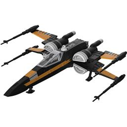 Poe's Boosted X-Wing Fighter Model Kit with Sound & Light Up 1/78