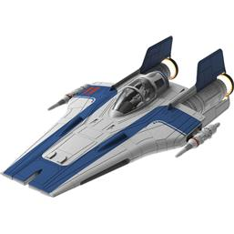 Resistance A-Wing Fighter Blue Model Kit with Sound & Light Up 1/44