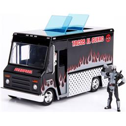 Deadpool Taco Truck X-Force Ver. Diecast Model 1/24