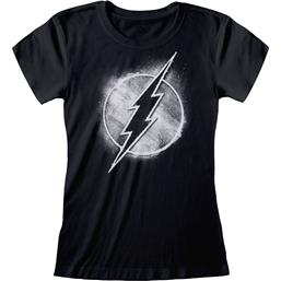 Flash: Flash Distressed Mono Logo T-Shirt (damemodel)