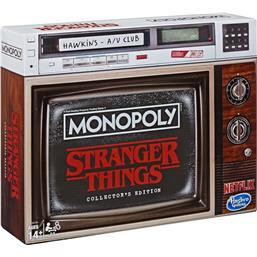 Stranger Things: Stranger Things Board Game Monopoly Collectors Edition *English Version*
