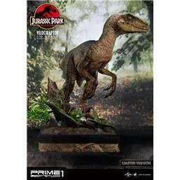 Velociraptor Closed Mouth Ver. Statue 1/6 41 cm
