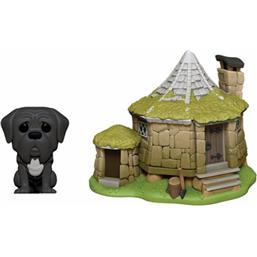 Harry Potter: Hagrid's Hut & Fang POP! Town Vinyl Figur