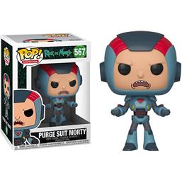 Purge Suit Morty POP! Animation Vinyl Figur (#567)