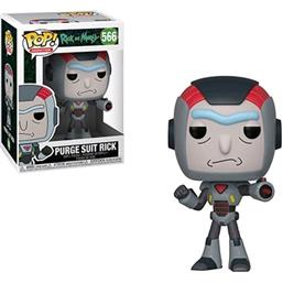 Purge Suit Rick POP! Animation Vinyl Figur (#566)
