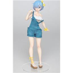 Re:Zero: Rem Overalls Version PVC Statue 23 cm