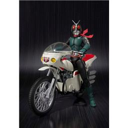 Kamen Rider: Kamen Rider with Vehicle Masked Rider 2 & Remodeled Cyclone S.H. Figuarts Action Figure 14 cm