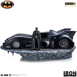 Batman & Batmobile (1989) Deluxe Art Scale Statue 1/10 75 cm