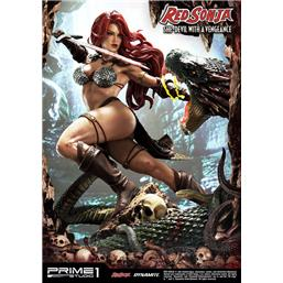 Red Sonja She-Devil with a Vengeance Statue 79 cm