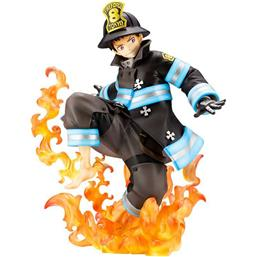 Fire Force: Shinra Kusakabe ARTFXJ Statue 1/8 21 cm