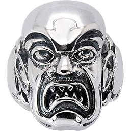 Rob Zombie: Phantom Creep Ring (Sterling Sølv)