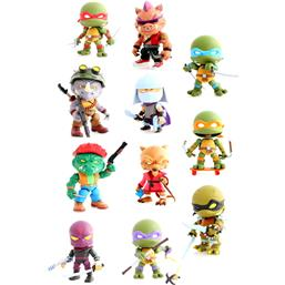 Teenage Mutant Ninja Turtles Mini Action Vinyl Figures Wave 2 16-pack 8 cm