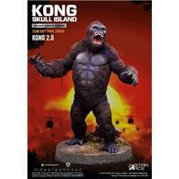 King Kong: Kong 2.0 Deluxe Version Soft Vinyl Statue 32 cm