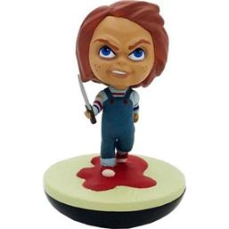 Child's Play: Knife Wielding Chucky SDCC 2019 REVOS Wobbling Vinyl Figure 20 cm