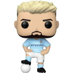 Manchester City: Sergio Agüero POP! Football Vinyl Figur