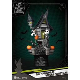 Nightmare Before Christmas: Jack's Haunted House D-Stage PVC Diorama 15 cm