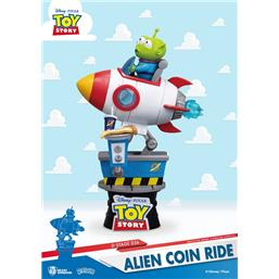 Toy Story: Alien Coin Ride D-Stage PVC Diorama 15 cm