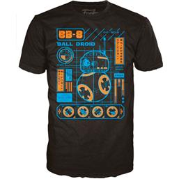 Star Wars Episode VII POP! BB-8 Blueprint T-Shirt