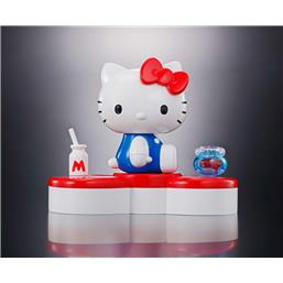 Hello Kitty Diecast Action Figure 45th Anniversary 6 cm