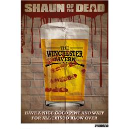 Shaun of the Dead: Winchester Tavern Art Print 42 x 30 cm