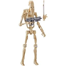 Battle Droid Black Series Action Figur 15 cm