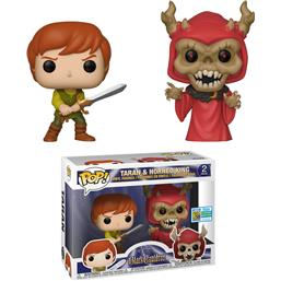 Disney: Taran & Horned King SDCC Exclusive POP! Disney Vinyl Figur sæt 2-Pak