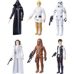 Retro Collection Action Figures 10 cm 2019 Wave 1 6-Pack