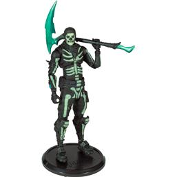 Fortnite: Green Glow Skull Trooper (Glow-in-the-Dark) Walgreens Exclusive Action Figure 18 cm