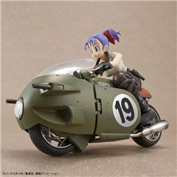 Bulma's Variable No. 19 Motorcycle Mechanics Plastic Model Kit 16 cm