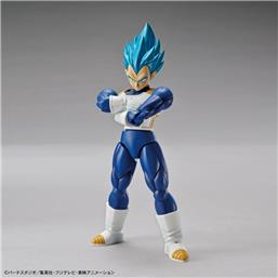 Dragon Ball: Super Saiyan God Super Saiyan Vegeta Plastic Model Kit 15 cm