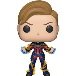 Captain Marvel w/New Hair POP! Movies Vinyl Figur (#576)