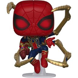Iron Spider med Nano Gauntlet POP! Movies Vinyl Figur (#574)