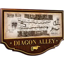 Harry Potter: Wall Plaque Diagon Alley