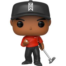 Tiger Woods (Red Shirt) POP! Golf Vinyl Figur (301)