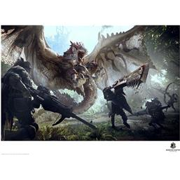 Monster Hunter Art Print 42 x 30 cm