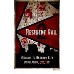 Resident Evil: Welcome To Raccoon City Art Print 42 x 30 cm