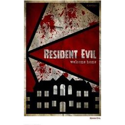 Resident Evil: Welcome Home Art Print 42 x 30 cm