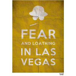 Diverse: Fear and Loathing in Las Vegas Art Print 42 x 30 cm