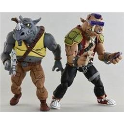 Rocksteady & Bebop Action Figure 2-Pack 18 cm