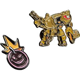 Borderlands: Iron Bear & Borderlands Smiley Collectors Pins 2-Pack