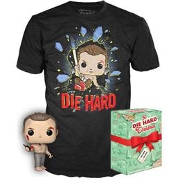 John McClane POP! & Tee Box
