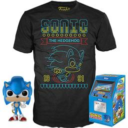 Sonic the Hedgehog POP! & Tee Box Sonic