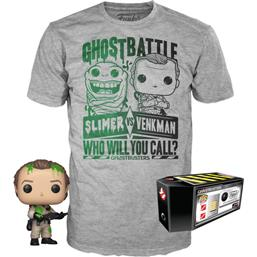 Dr. Peter Venkman POP! & Tee Box