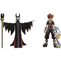 Kingdom Hearts: Maleficent & Sora Action Figures 2-Pack 18 cm