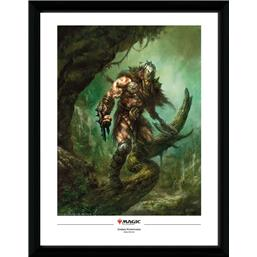 Magic the Gathering: Garruk Wildspeaker Framed Poster 45 x 34 cm